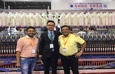 Tongda attended ITMA Asia in Shanghai from 2016.10.21 to 10.26