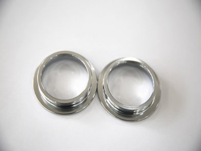 Chrome-plated steel ring cup