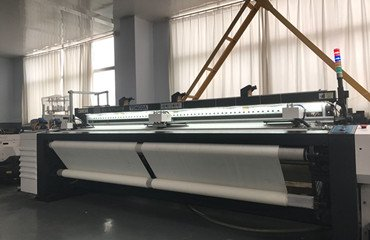 Tongda develop new model air jet loom TDA910 with better performance