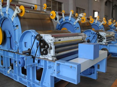 carding machine in Nonwoven Production Line