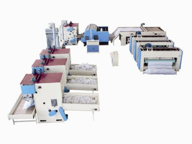 TDL-MB NEEDLE PUNCHING CLEANING CLOTH PRODUCTION LINE