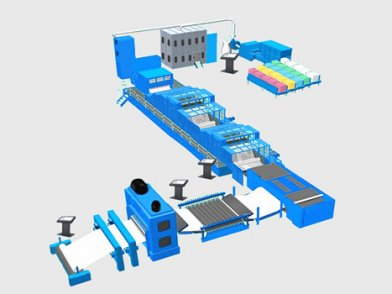 TDL-HY THERMAL-BONDED WADDING PRODUCTION LINE