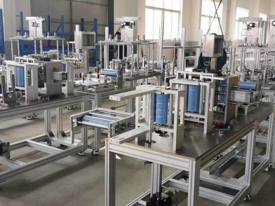 Fully Automatic N95 Mask Machine Production Line